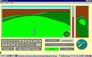 משחק מתוך קטגוריית משחקי גולף