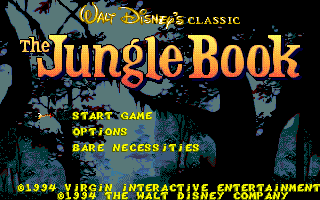 מסע אל העבר - משחקים ישנים - תמונה מתוך המשחק 'ספר הג'ונגל'