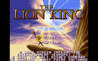 מסע אל העבר - משחקים ישנים - תמונה מתוך המשחק 'מלך האריות'