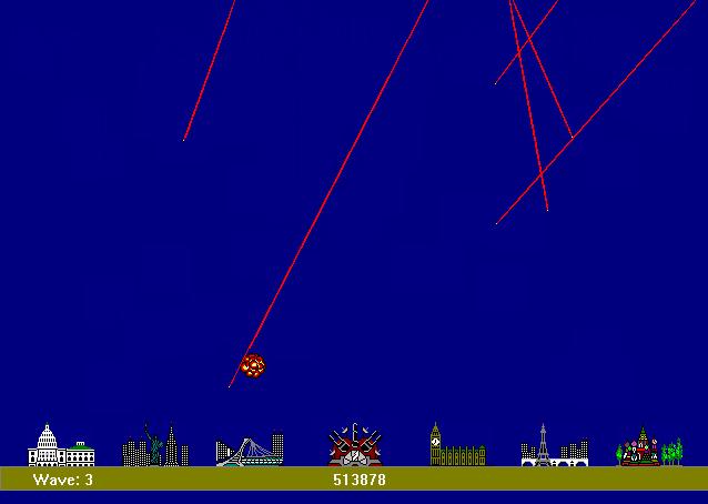 משחק מתוך קטגוריית משחקי התקפת טילים