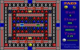 משחק מתוך קטגוריית משחקי פקמן