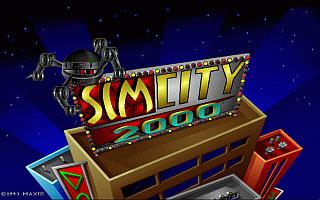 מסע אל העבר - משחקים ישנים - תמונה מתוך המשחק 'סים סיטי 2000'